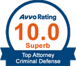 Avvo Award Superb Rating