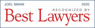 Joel Mann, Best Lawyers badge, 2020
